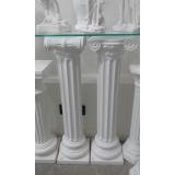 colunas de gesso gregas Jardim Adhemar de Barros