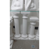 colunas de gesso Jardim Bonfiglioli