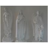 estátuas em gesso Jaguaré