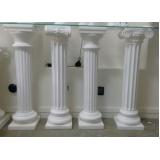 onde tem coluna de gesso para sala Água Espraiada