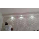 paredes 3d em gesso M'Boi Mirim